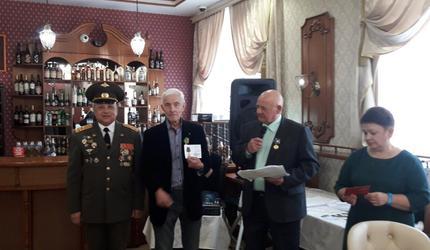 Медали ветеранам автомобильных войск