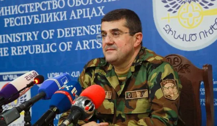 Лидер Нагорного Карабаха Араик Арутюнян обратился к Путину с просьбой