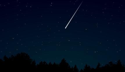 В апреле москвичи смогут наблюдать первый весенний звездопад