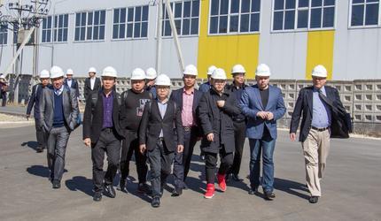 «Гусар» посетила китайская делегация