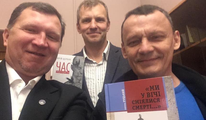 фото: соцсети / слева направо: Андрей Мамалыга, Игорь Мазур, Николай Карпюк
