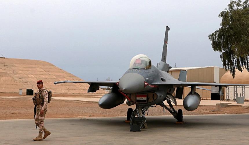 Из открытых источников/Авиабаза США в городе Балад (Ирак)
