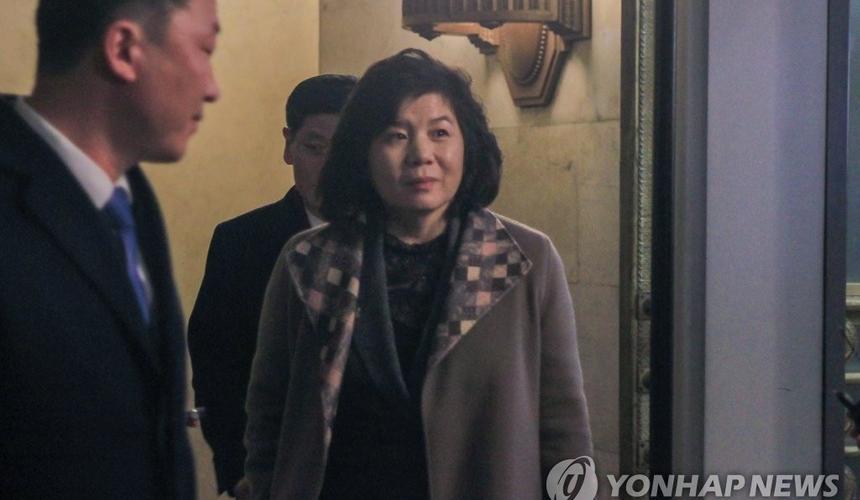 Фото: Minister Choe Son-hui/Yonhap