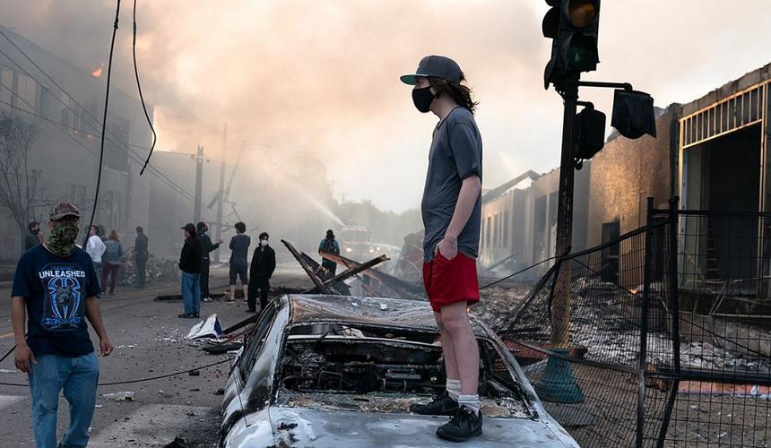 Протесты в США. Фото: Википедия
